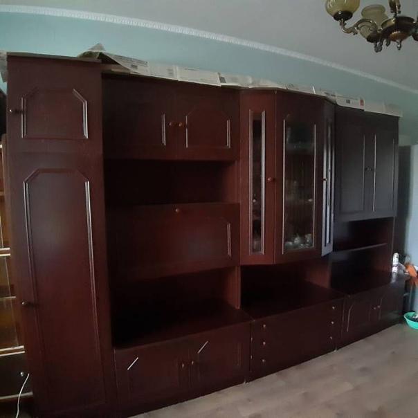 Отдам мебельную стенку, очень хорошо сохранилась, ...