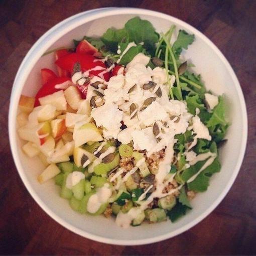 Подборка салатов на обед или ужин