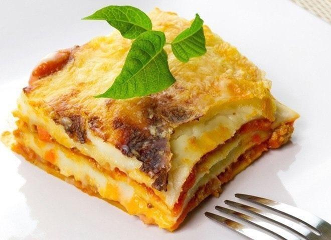 Белковый ужин: сырная лазанья