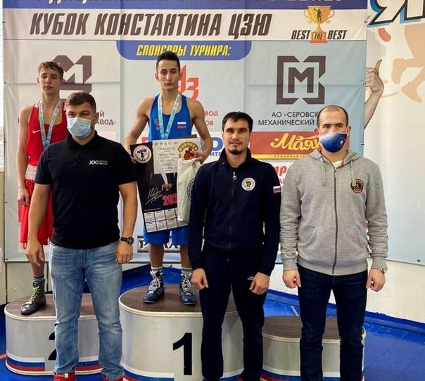 Сборная команда Оренбургской области по боксу прин...