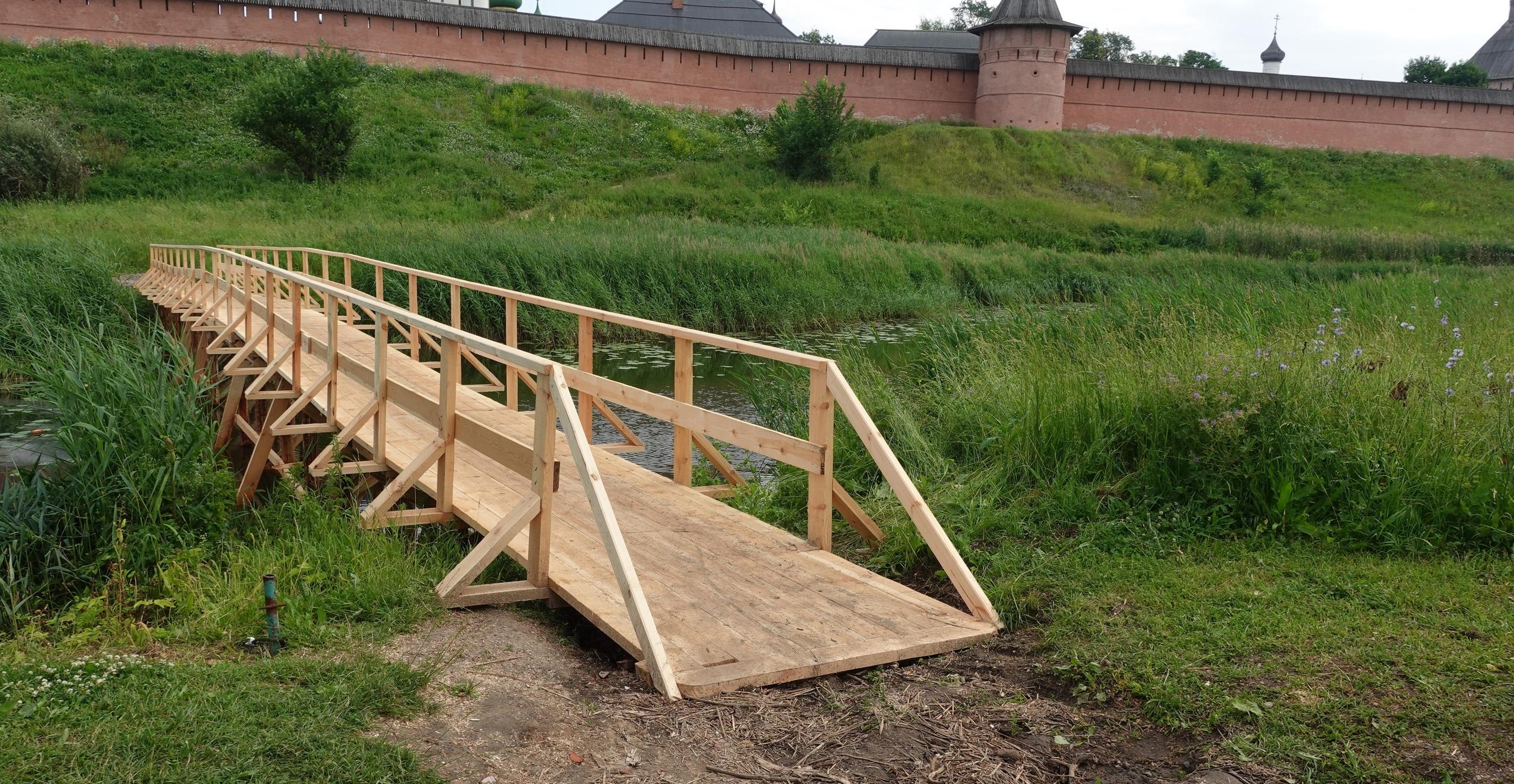 Новый мост на улице Покровской