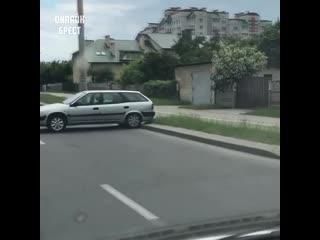 Такой парковки вы ещё в Бресте не видели!