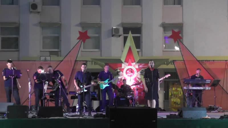 Концерт ВИА Днестр МВД ПМР Бендеры день освобождения 23 Августа 2020 ч 3
