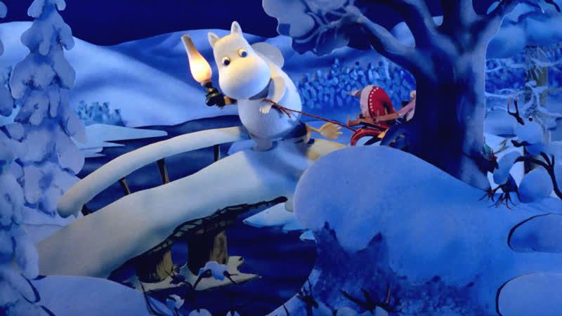ᴴᴰ Муми тролли и зимняя сказка Muumien taikatalvi 2017 Финляндия Ира Карпелан Якуб Вронски мультфильм HD1080