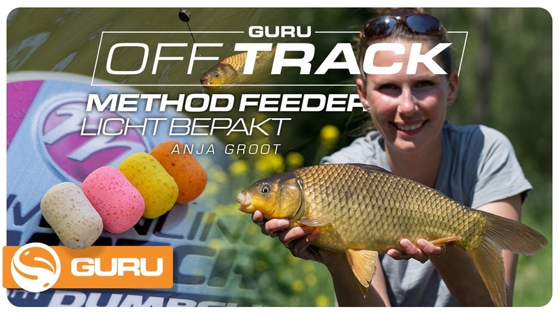 METHOD FEEDER compact vissen met Anja Groot OFF TRACK Tackle Guru Benelux