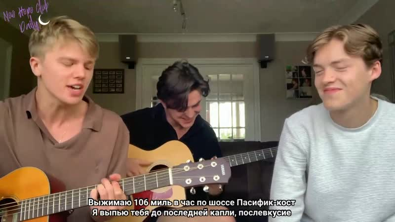 New Hope Club Married In Vegas cover the vamps Rus Sub