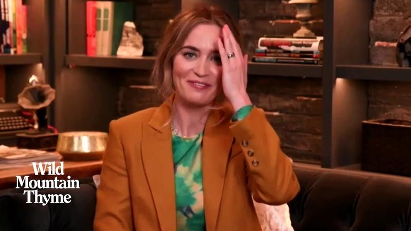 'Wild Mountain Thyme' Star Emily Blunt Reveals What John Krasinski Thinks of Her On-Screen Makeouts
