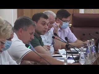 Выступление Сергея Гулькина на заседании Ульяновской Городской Думы