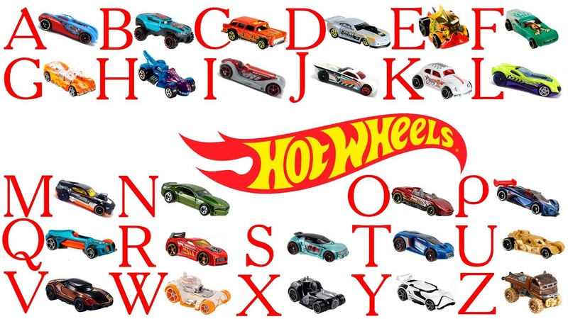 АЗБУКА Hot Wheels l Учим английский АЛФАВИТ l Alphabet song ABC песенки про английский алфавит