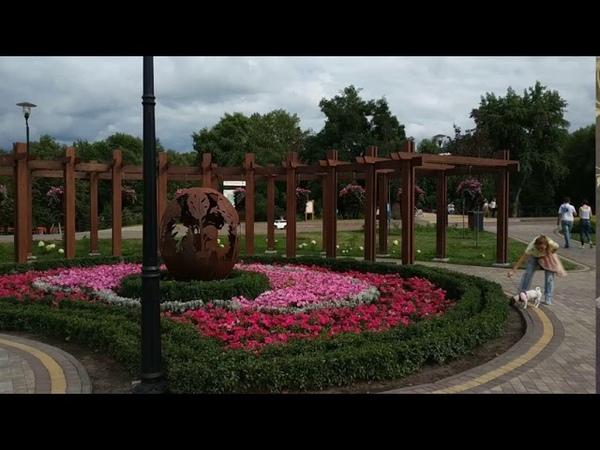 Киев Прогулка по Оболонской набережной Kiev Одно из самых красивых мест столицы С Чекалин