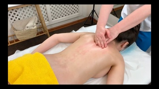 The best full body massage technique in the world. Ukrainian massage