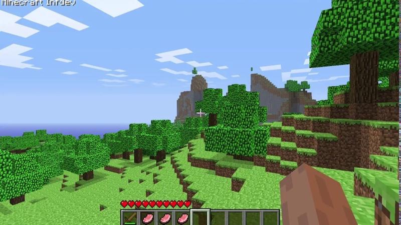 БЕСКОНЕЧНО ВЕЧНОЕ ВЫЖИВАНИЕ 3 ПУТЕШЕСТВИЕ ПО ИГРОВОМУ МИРУ INFDEV ЧАСТЬ 1 Minecraft infdev