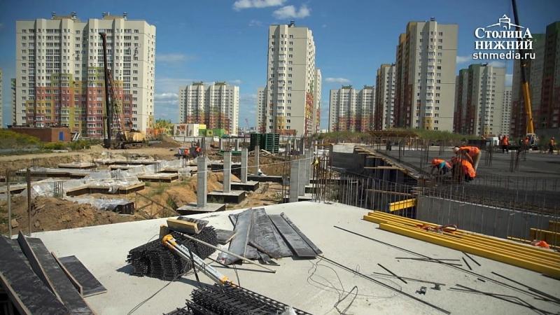 Владимир Панов оценил ход строительства школы в ЖК «Цветы»