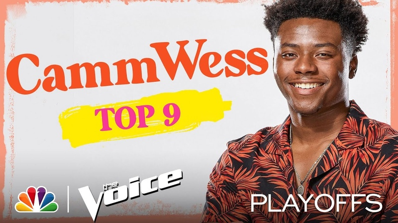 CammWess Performs the Kacey Musgraves song Rainbow The Voice Top 9 Performances 2020