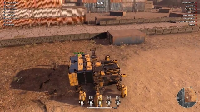 9 BARREL LAUNCHER SPIDER FUSION - Crossout · coub, коуб