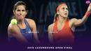 Julia Goerges vs. Belinda Bencic 2018 Luxembourg Open Final WTA Highlights