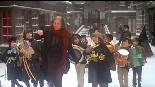Scrooge 1970 Albert Finney Alec Guinness Edith Evans Feature Drama Family Musical video dailymotion