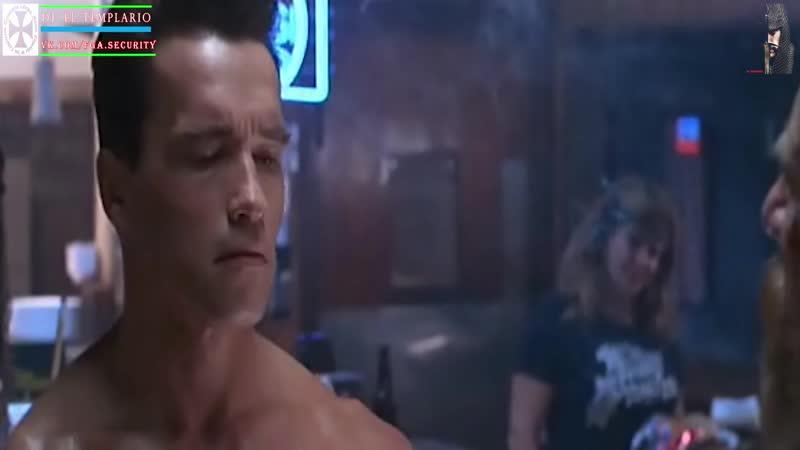 Terminator I y II Escenas Llegadas Arrival Scene Remastered