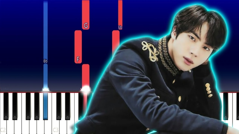 BTS Black Swan Piano Tutorial