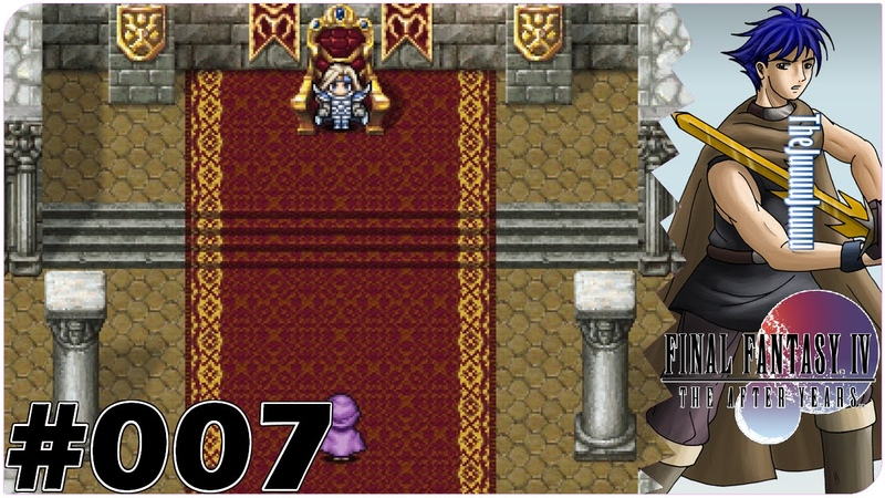007 FINAL FANTASY IV THE AFTER YEARS Alte Bekannte 60FPS 720p GER
