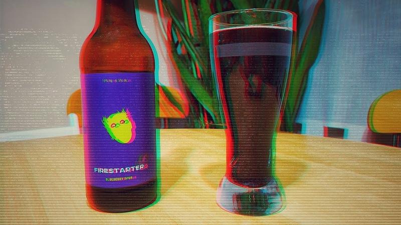 Beer Solo 9 Brewlok Brewery Firestarter Пиво посвящённое Киту Флинту из The Prodigy Beer Case