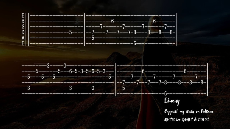 Celtic Music Tam Lin Glasgow Reel Full Acoustic Guitar Tab by Ebunny Fingerstyle How to Play