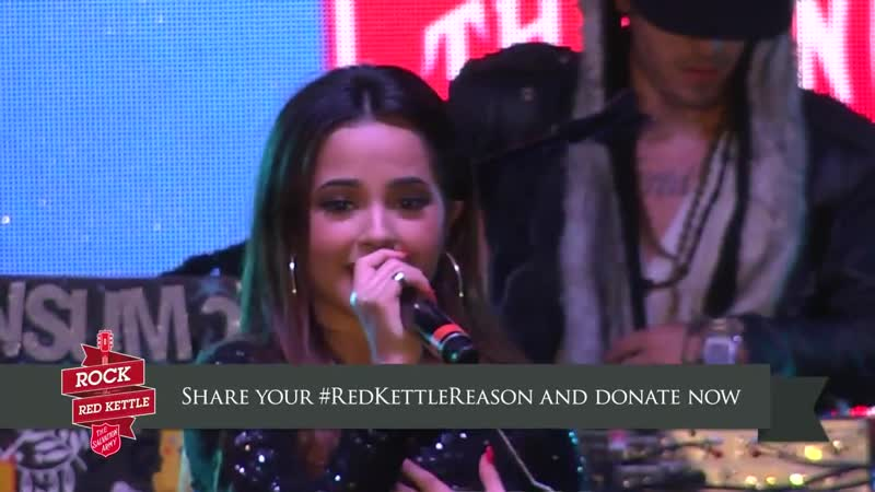Becky G Live Performance At Rock The Red Kettle 2014 2