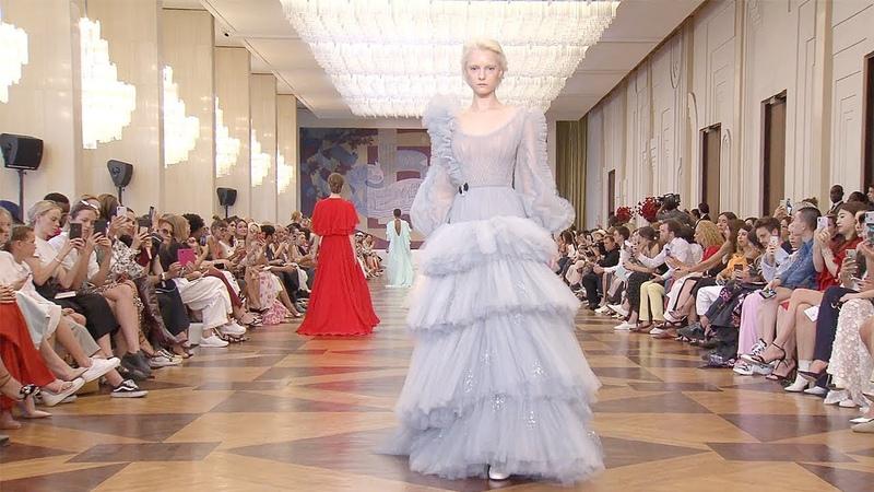Ulyana Sergeenko | Haute Couture Fall Winter 2018/2019 Full Show | Exclusive