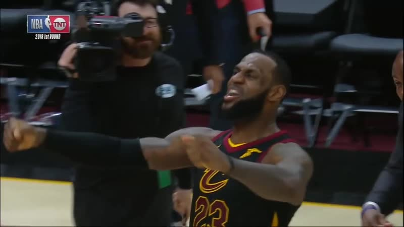 LeBron James blocks Victor Oladipo, hits game-winning 3 in Game 5 vs. Pacers