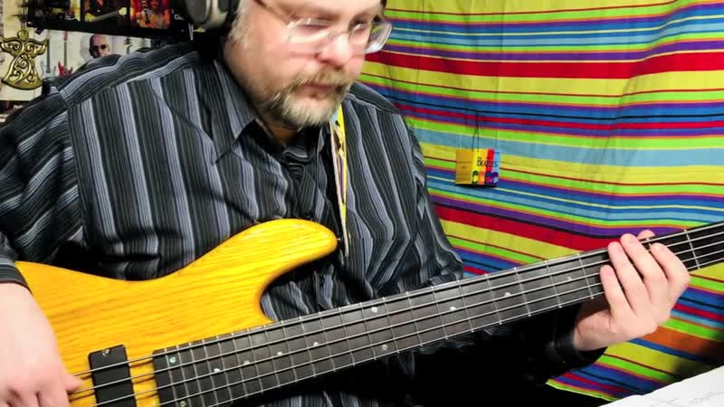Donald Fagen Ruby Baby bass cover