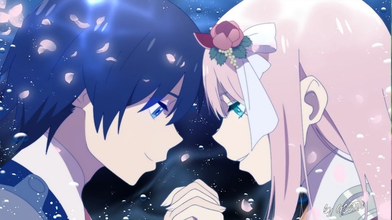 Darling in the FranXX [ AMV ] Zero Two x Hiro - Love aint Perfect
