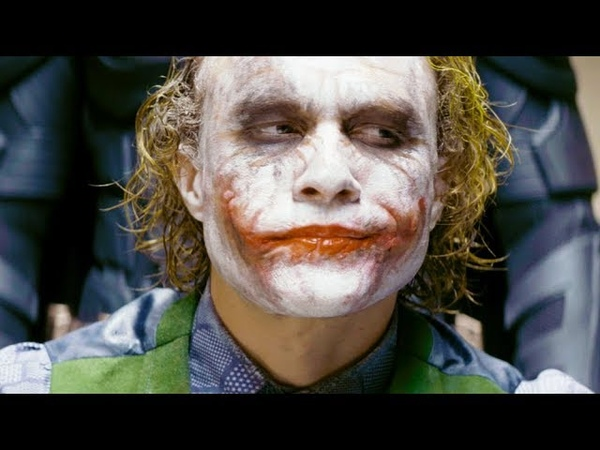 Batman interrogates the Joker The Dark Knight 4k HDR