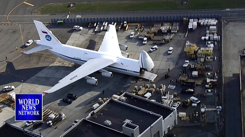 Russian plane with coronavirus medical gear lands in U S after Trump Putin call