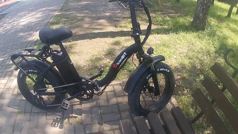 IconBIT E Bike K220 продолжаем
