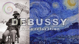 Relaxing piano music | Clair De Lune, Arabesque no.1, Reverie and other works of Claude Debussy