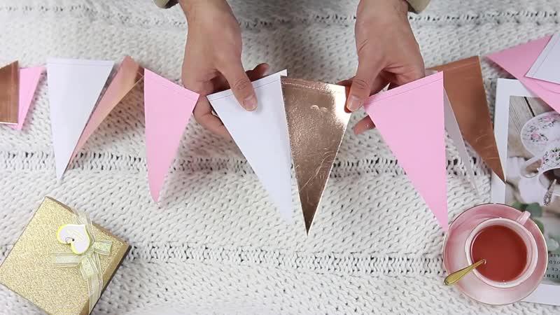 6 5фт 2 м баннер розовое золото розовый белый смешанные цвета