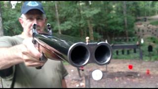 Pedersoli 20 gauge Howdah Pistol
