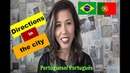 DIRECTIONS in Portuguese DIRECCIONES en portugués (subtitles in English subtítulos en español)