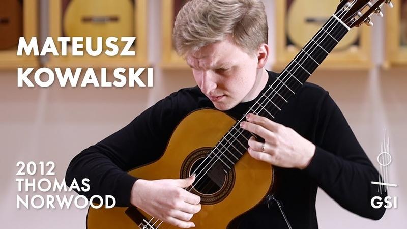 Franz Schubert's Moment Musicaux No 3' played by Mateusz Kowalski on a Thomas Norwood Esteso
