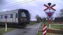 Spoorwegovergang Aabenraa (DK) Railroad crossing Jernbaneoverskæring