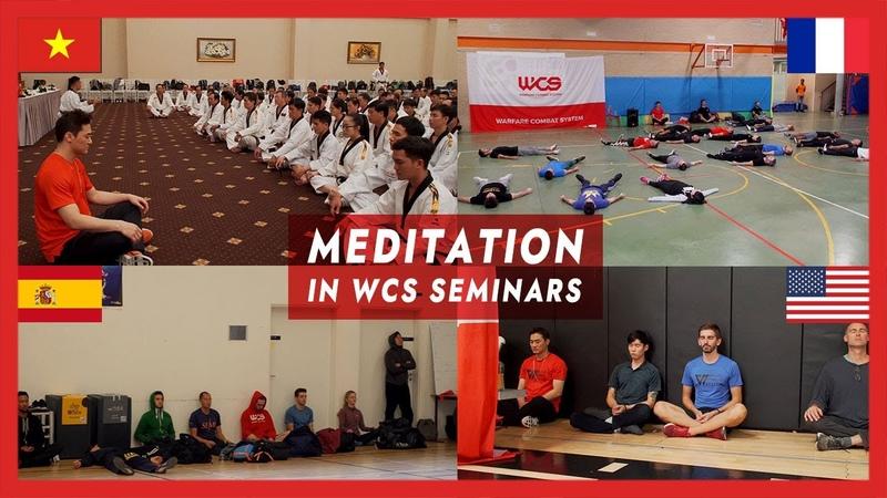 Meditation in WCS seminars - DK Yoo