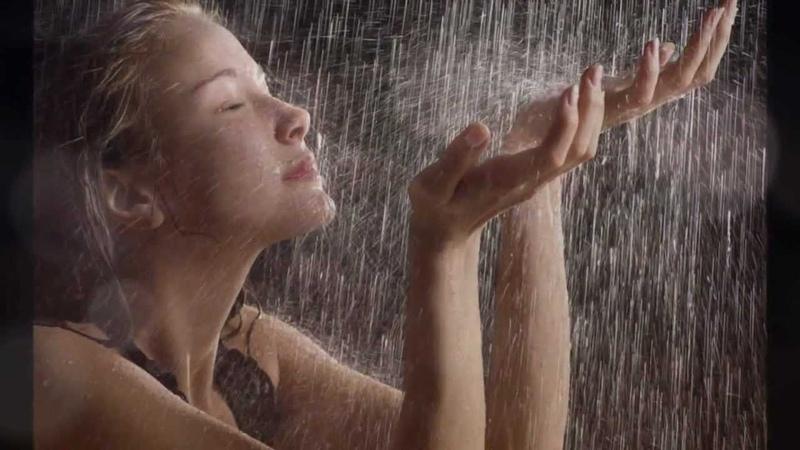 Капля дождя уходящего дня