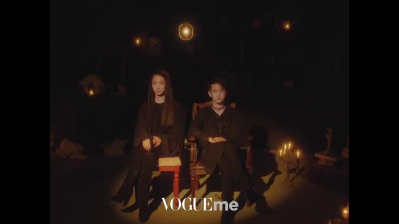 Zhou Zhennan х Meng Meiqi x VogueMe