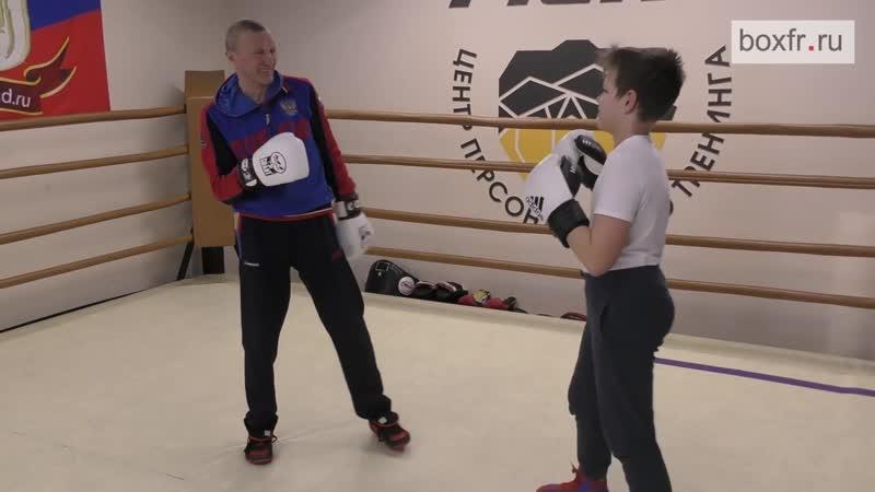 Бокс Высокий против низкого Для левшей удар по печени