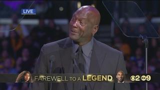 A Celebration of Life for Kobe and Gianna Bryant: Michael Jordan