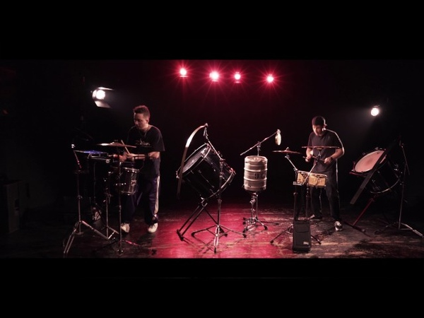 Safri Duo Played a Live the bongo song cover by Myles Simon