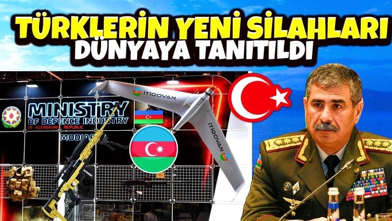HELAL OLSUN AZERBAYCANIN YENİ SİLAHLARI HERŞEY FARKLI OLACAK !! İRAN SİHA KOPYALADI