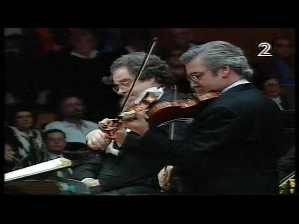 פרלמן וצוקרמן קונצ רטו לשני כינורות של וי 14