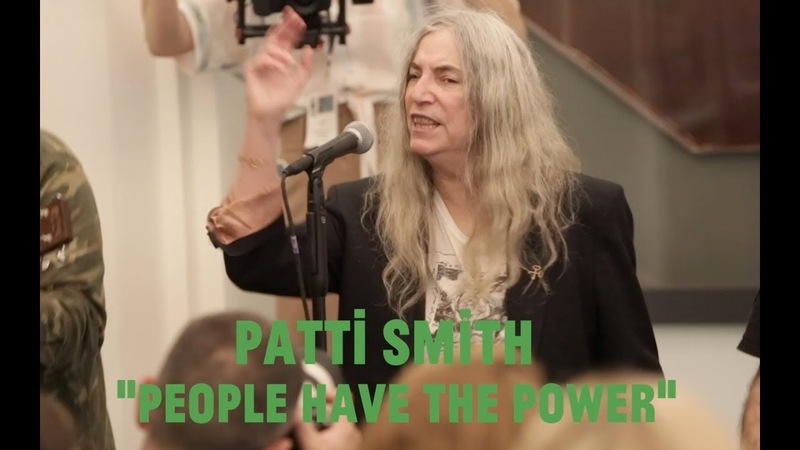Choir Choir Choir Patti Smith sing People Have The Power