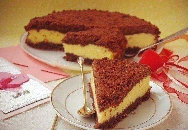 Превосходный творожный  пирог